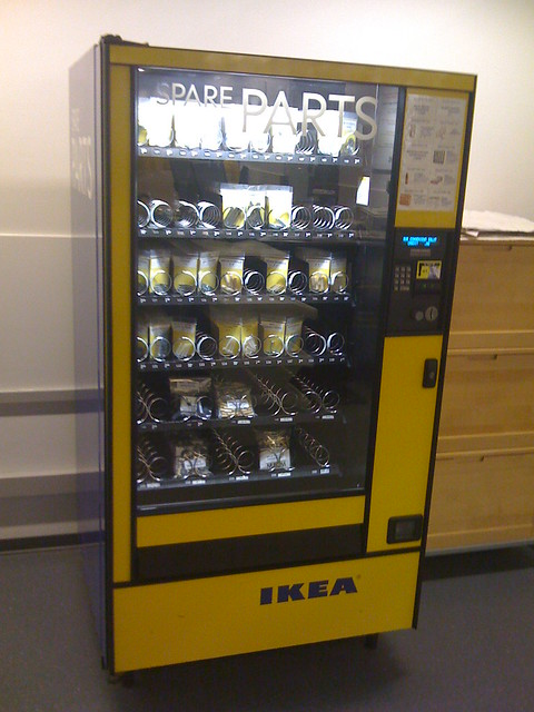 vending machine parts
