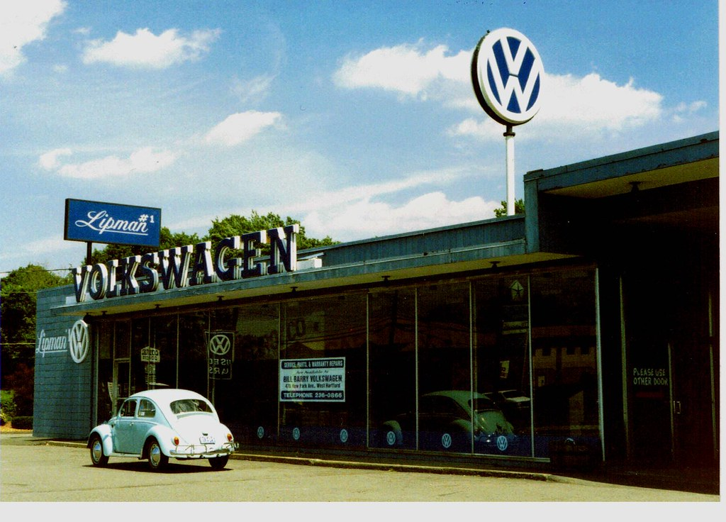 1963 Vw At Lipman Vw Vernon Ct Summer Of 1990 This