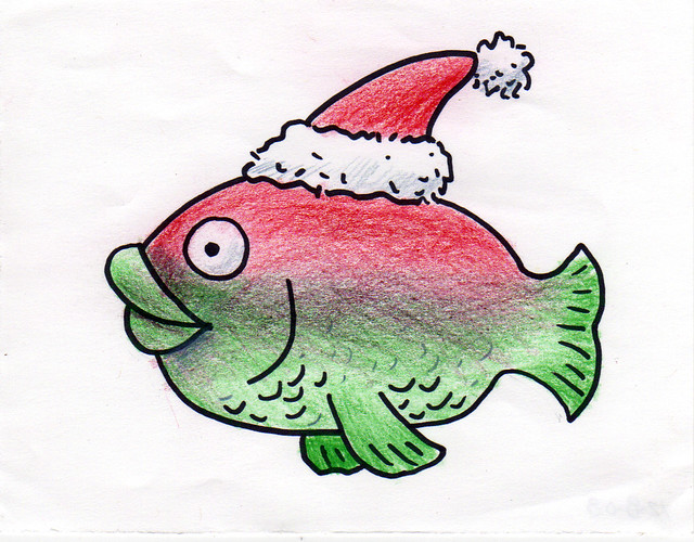 santa fish 12 8 08 david laferriere flickr free 3d clipart for powerpoint free 3d clipart of a boxer dog