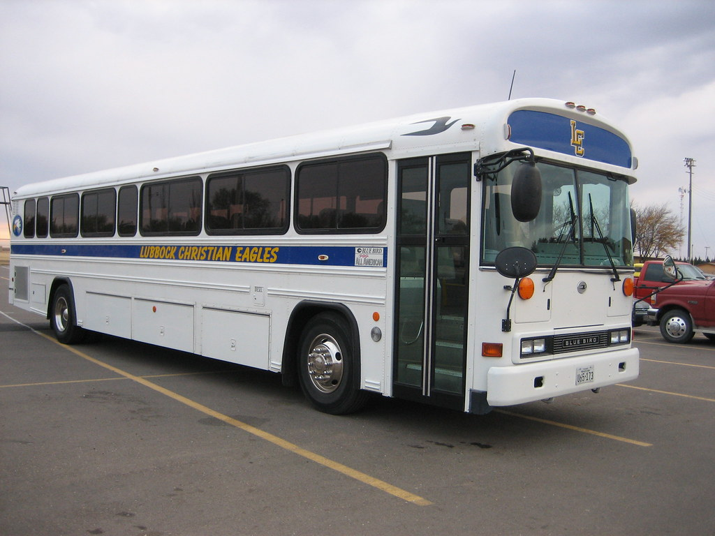 Blue Bird Bus >> Lubbock Christian Eagles Blue Bird All American RE | Flickr