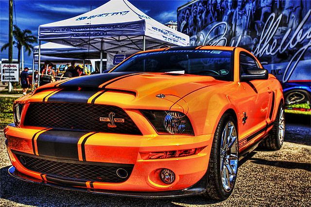 Ford Mustang Shelby GT 500 Barrett Amp Jackson West Palm