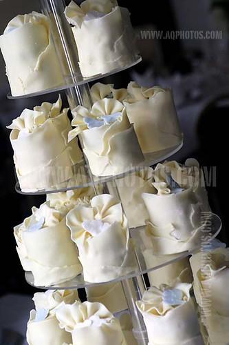 Individual Wedding Cakes Cream Doxford Hall Wynyard