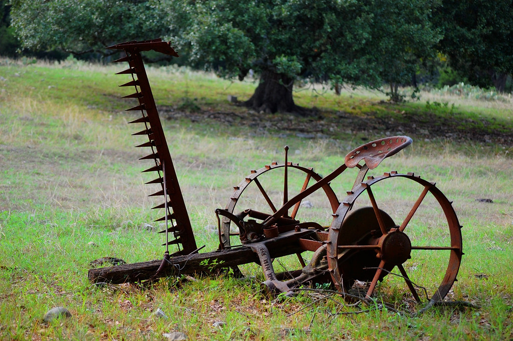 Old Farm Equipment | Okay, so I guess I should have asked ...