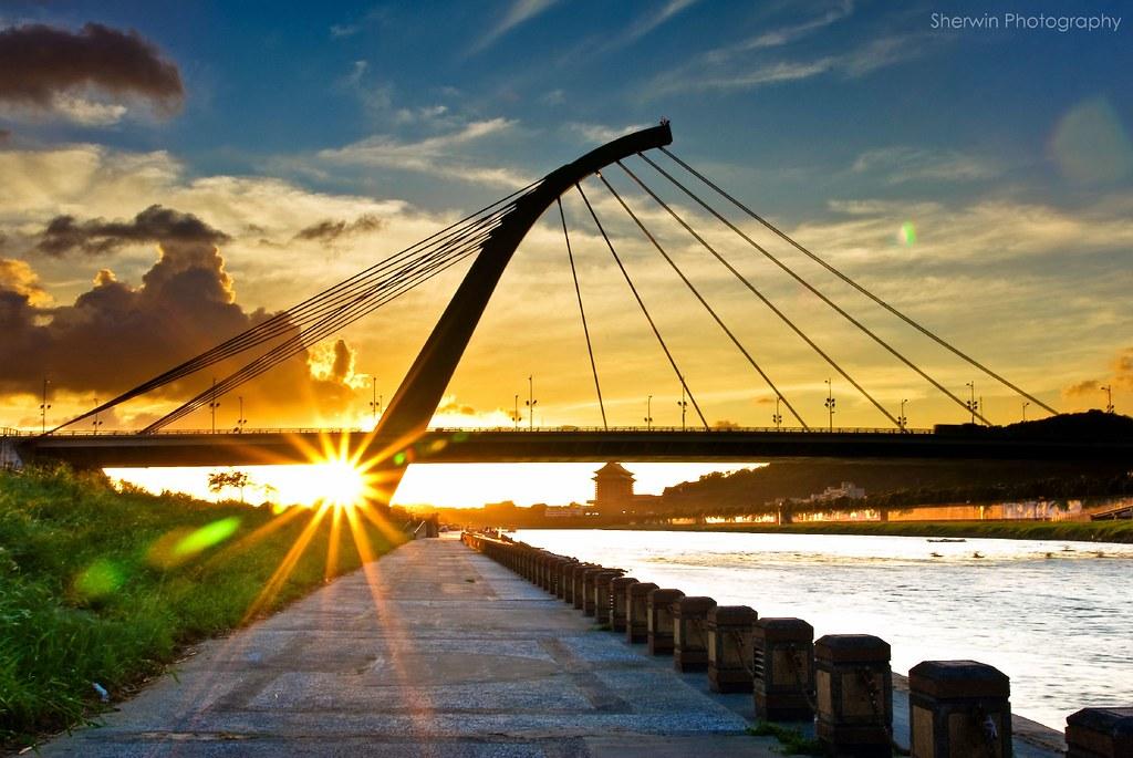 大直橋夕照, Sunset @ DaZhi Bridge, Taipei