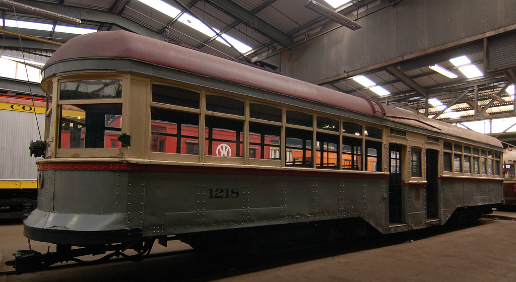 1914 Shaker Heights Rapid Transit 1218 From The