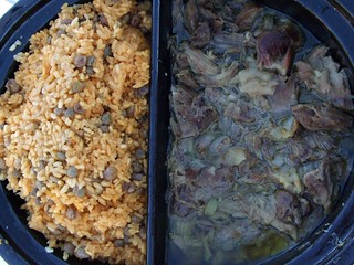 Roast Pork (Pernil) and Arroz con Gandules | by swampkitty