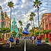 Disney - A Look Down Hollywood BLVD In HDR