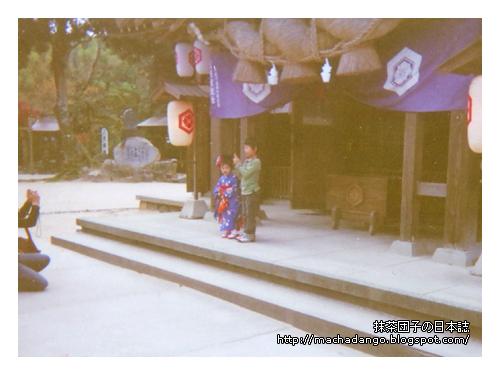 [06.11.25] 八重垣神社中有可愛的七五三妹