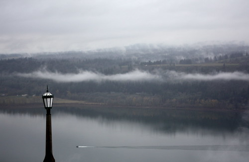gorge, with mist | by lauren*o