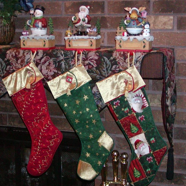 "Christmas stockings ""the were hung"