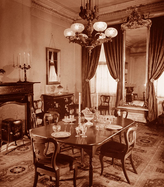 Merchant House NYC Interior 1870's