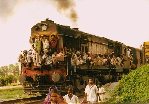 Taking the train in India | by Florent Puld