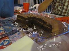 Coca-Cola Sheet Cake