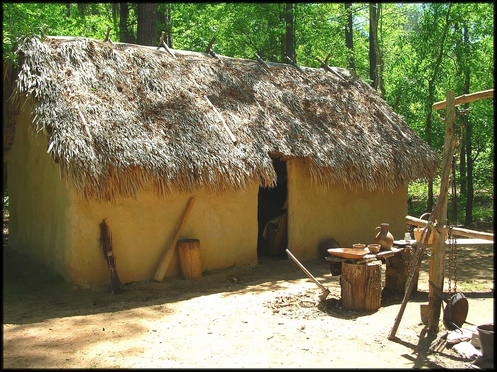 Creek indian winter home fort toulouse wetumpka al flickr for Creek house