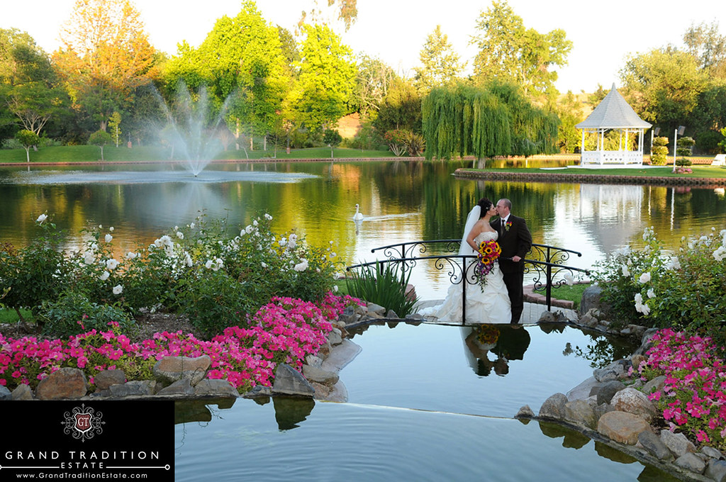 Wedding Ceremony At The Grand Tradition Estate In Southern