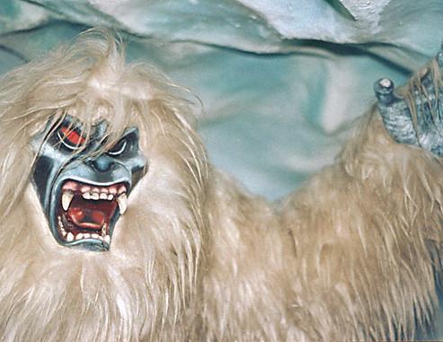 Abominable Snowman Matterhorn Disneyland The Oh So Scary