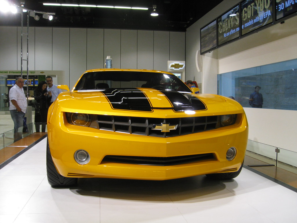 Chevrolet Camaro Autobot Bumblebee From The 2007 Transform