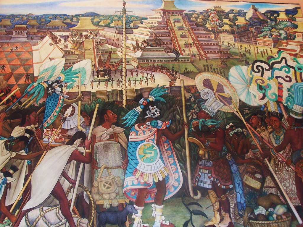 Diego rivera one of the famous murals by diego rivera in for Diego rivera famous mural