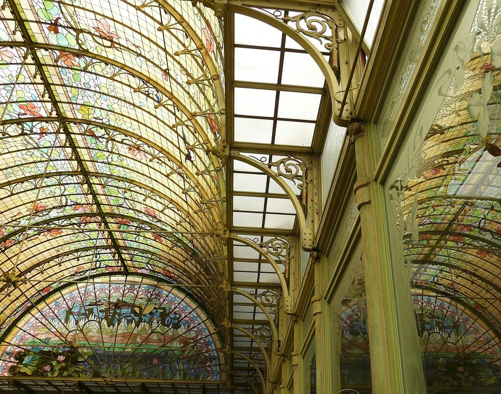 Art Nouveau Reflections 1900 Winter Garden Onze Lieve Vr