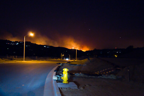 Sleepy Hollow Fire in Carbon Canyon 11/15/08 | by Mike Chen aka Full Time Taekwondo Dad