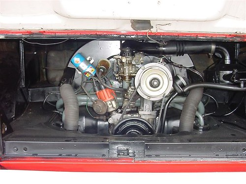 1965    VW       Bus        engine    partment   Flickr  Photo Sharing