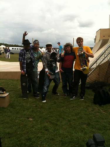 Greenpeace / Soild skateboard ramp crew. Media throw down with @MRGOLDIE at #Vintage at #Goodwood #GOODTIMES | by squaregame