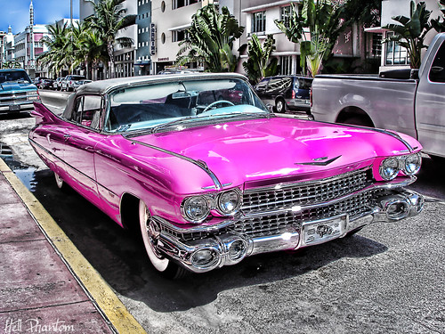 Pink Cadillac - Collins Ave - Miami | by Vivid~David