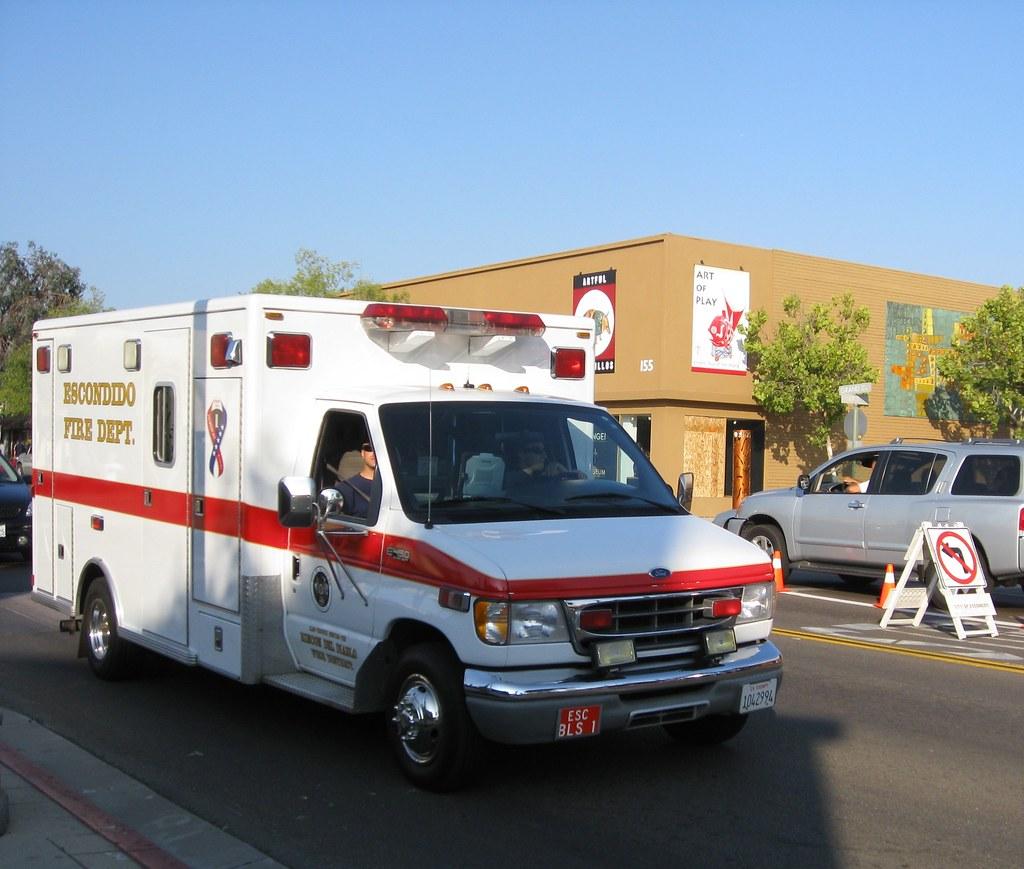 New California Fire >> Ford E450 Fire Department Ambulance   Escondido, California.…   Flickr