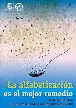 Afiche D 237 A Internacional De La Alfabetizaci 243 N 2008 Flickr