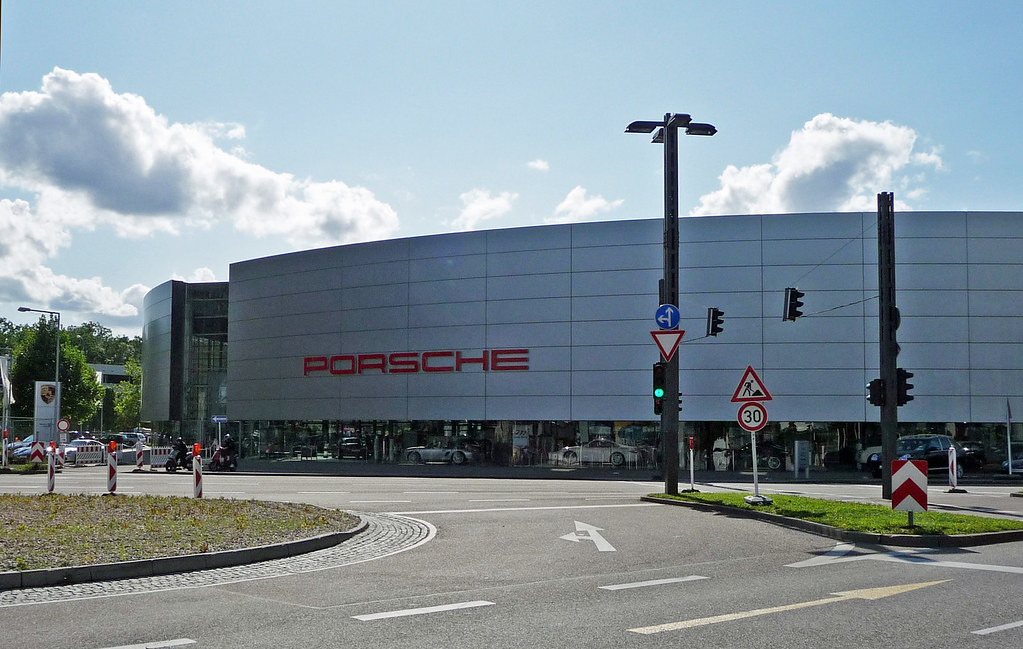 Porsche Headquarters Zuffenhausen Stuttgart Most