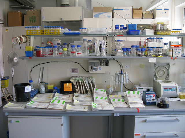 my lab desk | ilviscontedimezzato | Flickr