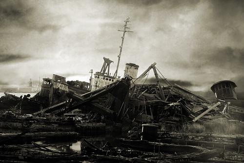 Boat Graveyard | by Tender Young Pony of Insomnia