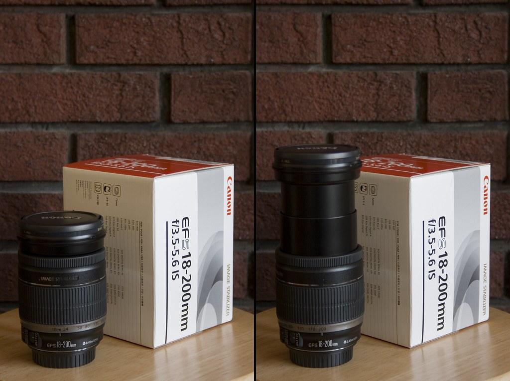 Lens 200mm Canon Canon Efs 18-200mm