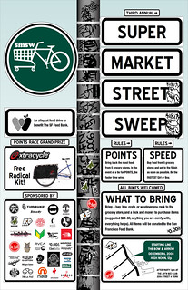 DAY 287: 3rd Annual Supermarket Street Sweep - Revised Poster! | by plattyjo