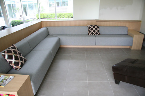 Built In Bench Seating Upholstered Wool Flickr