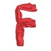 Red Silk Alphabet F