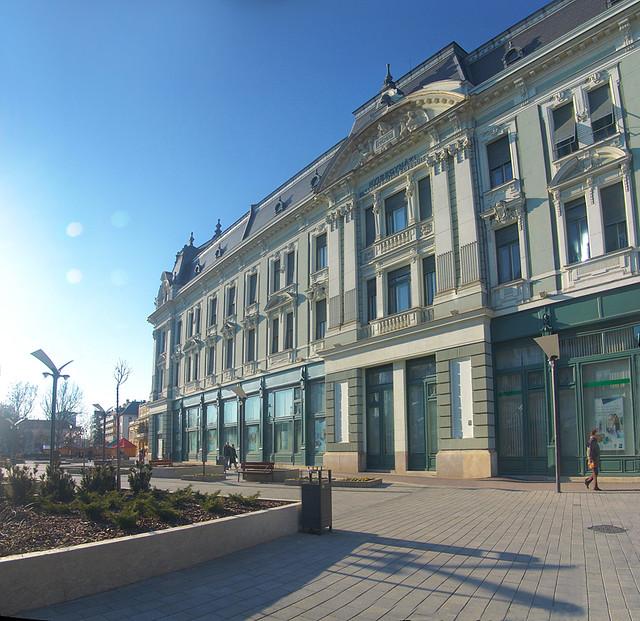 Nyíregyháza - Kossuth tér, OTP Bank épülete, Hungary   Flickr