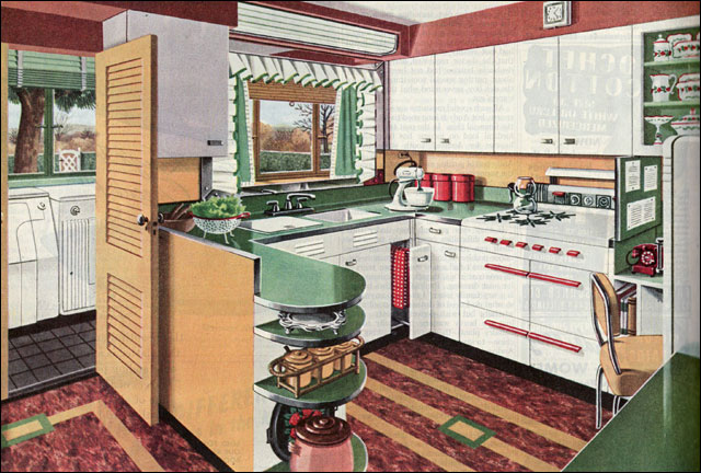 design small kitchen 1946 american gas assn kitchen laundry combo i found 3207
