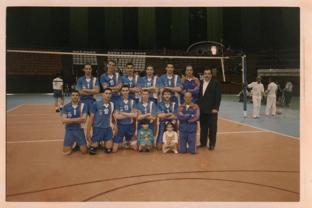 Om medea volley ball vainqueur coupe d 39 afrique 1995 flickr - Vainqueur coupe d afrique ...