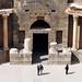 Columns of the Roman theatre in Bosra