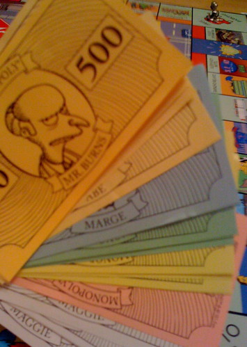 simpsons monopoly money | by Marie the Bee