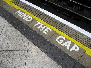 Mind the gap | by Marcin Wichary
