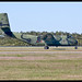 RAAF Caribou Brisbane Taxing-2+