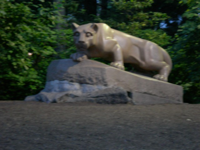 Nittany Lion Statue Flickr Photo Sharing