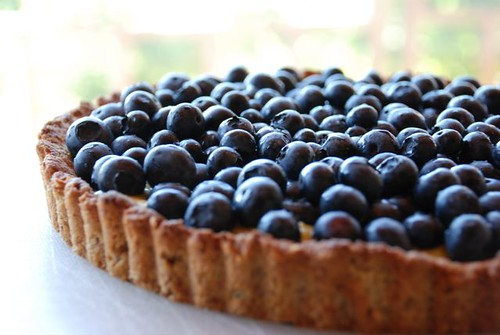 Nina's blueberry tart | i haven't eaten this yet. damn ...
