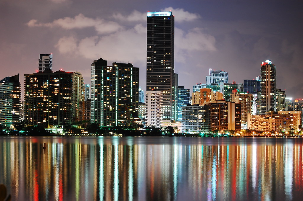 Skyline Lights of Miami