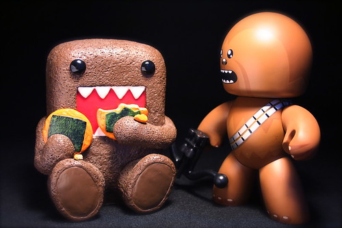Domo Kun meets Chewbacca Mugg | by chanchan222
