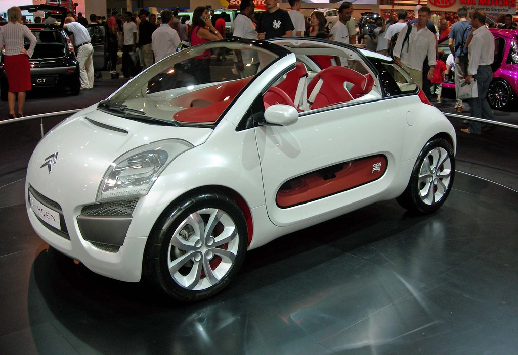 2006 motor show citroen c3 cabriolet concept car flickr. Black Bedroom Furniture Sets. Home Design Ideas