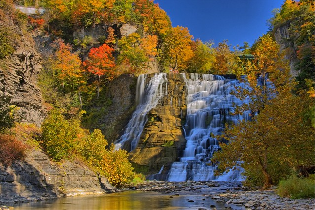 Image result for ithaca commons fall