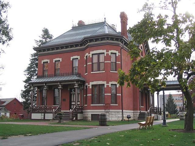 Zz Martin Mitchell Mansion Naperville Victorian